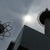 京都タワーと駅ビル(PLフィルター)