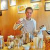 【肥後橋 COFFEE STAND OSAKA EDOBORI blue-Line】マスターと会話も楽しめるカフェ