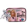 バービーの化粧ポーチ-Barbieサテンコスメポーチ