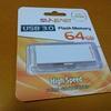 UBS3.0フラッシュメモリー64GB ハイスピードタイプ 購入 より。