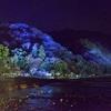 嵐山・渡月橋のライトアップ2017。
