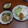 幸運な病のレシピ( 377 )朝:ホクホクのジャガイモ(バター)、煮しめ