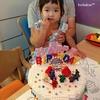 娘3歳になりました:お祝いはLEGOバースデーケーキで思い出♡