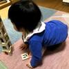 マスクとちょんまげを怖がる息子、ティッシュで拭く娘 - 年子育児日記(2歳8ヶ月,1歳2ヶ月)