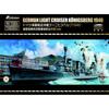 1/700『ドイツ海軍 軽巡洋艦 ケーニヒスベルク 1940年 豪華版』プラモデル【フライホークモデル】より2019年1月発売予定♪