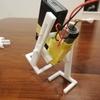 NHK 0655の『歩くの歌』に出てくる二足歩行ロボット的なやつ作ったった