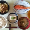 焼鮭、白瓜の煮物