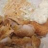 蟹クリームコロッケ&豚肉照り旨炒め定食