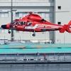 2020年7月2日(木) 臨港消防署のヘリコプター離着陸訓練を晴海の旅客船ターミナルから撮った話(スゴイ良かった!)