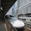 東海道新幹線の最新型車両N700S系に乗車(ひかり648号新大阪11:18→名古屋12:25)