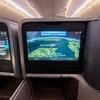 シンガポール航空 B787 ビジネスクラス機内食【ホーチミン→シンガポール】