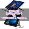 1/27値下げ後のTransbook 3とSurface Pro 4のコスパ徹底比較!?