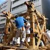 前祭山鉾建を撮影!【祇園祭2019】