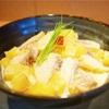 鯛とサツマイモの和風クリームパスタ