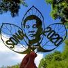 【コロナ失業から】ジャックフルーツの葉で作る肖像画/フィリピン