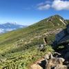 6月中旬の中央アルプス 空木岳から木曽駒ヶ岳への縦走登山 前編