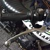 #バイク屋の日常 #カワサキ #250TR #グリップ交換 #レバー交換