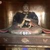 いまなお真光院に残る 三浦道寸の父子像(三浦市)