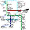 ドンムアン空港からアソーク方面への行き方 バス+BTSかMRT or TAXI