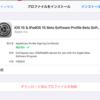 iPadOS15入れる