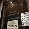 ヤプーズの不審な行動「令和元年」レコーディング・ライヴ at 渋谷CLUB QUATTRO
