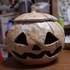ハロウィンのかぼちゃ出来た!