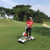 Cengkareng GC (チェンカレンGC)でゴルフボード(Golfboard)を利用してみた。セグウェイのような4輪の乗り物です。