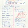 【朝活→振り返り】挑戦ノート!#2