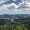 広葉&針葉コラボと度胸試しの廻り縁。広島最高峰:大峯山