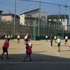 6年生:体育 ドッジボールの試合