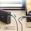 電源タップをスッキリさせる卓上型USB急速充電器「Anker PowerPort +5 USB-C Power Delivery」を買った