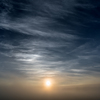 The sun with morning mist felt good!