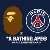 12月8日(土) A BATHING APE®xPARIS SAINT-GERMAIN