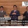 安倍総理の支持率が落ちた、それでも辞めて欲しくない30%の1人*昭恵夫人はどう思っているのか