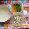 離乳食 中期 70日目 1回目 カレイ豆腐いんげんの和え物