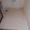 浴室床 補修例