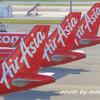 KLIA2撮影 Air Asia特別塗装機と・・・