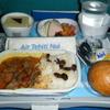 国際線✈の機内食☆エア・タヒチ・ヌイ