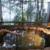 支笏湖畔の美食宿「レイクサイドヴィラ翠明閣」宿泊レポ2 露天風呂など