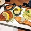 のものキッチン池袋店で期間限定新潟フェア開催中!村上塩引き鮭や雪宝熟成黄金タレカツを使った新潟のもの定食をランチにいただきました!
