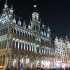 【世界一周13ヵ国目ベルギー】ブリュッセルの世界遺産グラン・プラスの夜景とサン・ミッシェル大聖堂