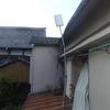 台風24号の被害 雨樋の修理