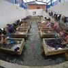 グアテマラの温泉街スニル驚愕の光景!マダムは天然の温泉でお洗濯