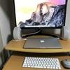 mac book proをクラムシェルモードにした