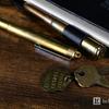 トラベラーズノートに似合う「実弾使用」の宇宙でも書ける真鍮無垢の無重力ペンは男のロマン