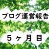 雑記ブログ5ヶ月目の運営報告!|15000PV、収益8000円達成!
