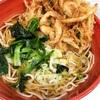 【グルメ】新宿で食べたかき揚げそば✨