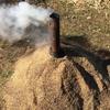 【自然農】籾殻燻炭をつくる