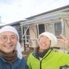 【県外】出張DIY!雪の中の物干し作り
