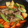 食材を使いきったスペアリブ煮込み